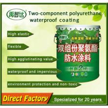 Weatherresistance Extension Two Component Polyurethane Waterproof Coating