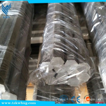 Barre hexagonale en acier inoxydable DIN 303