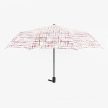 A17 5-fach Regenschirm kompakt Regenschirm Auto öffnen und schließen Regenschirm