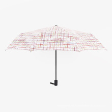 A17 5 veces paraguas paraguas compacto auto abrir y cerrar paraguas