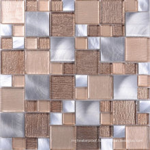 Coffee Shop Wall Decoration Mosaic Mixed Color Wholesale Glass Tiles