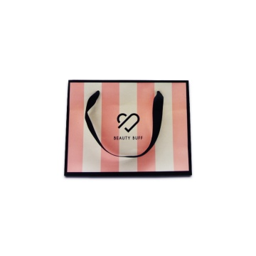 Luxury paper apparel gift bag