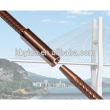 China most popular tapered thread rebar couplers