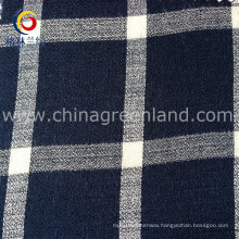 Cotton Viscose Habijabi Checks Yarn-Dyed Fabric for T-Shirt Garment (GLLML172)