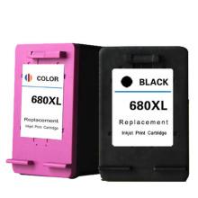 wholesale Remanufactured  Non original printing refill Ink Tank 680 680xl for cartouche hp deskjet printer 2135 2130 2138 3638