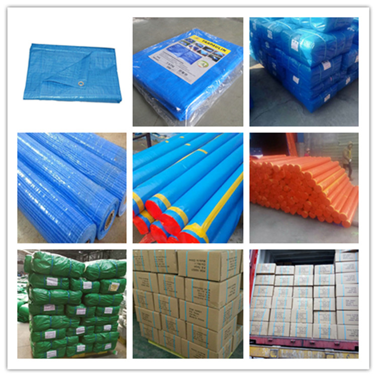 PE tarpaulin packing