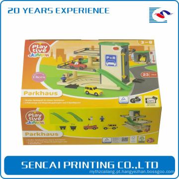 SenCai crianças brinquedo engraçado caixa de embalagem de papel ondulado