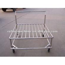 controlling water drain cart