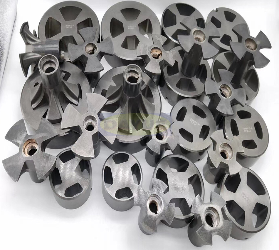 Tungsten Carbide Rotors And Stators For Oil And Gas