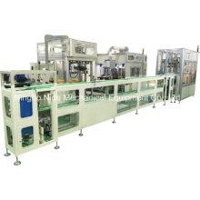 Ligne d'assemblage de production de stator de compresseur automatique