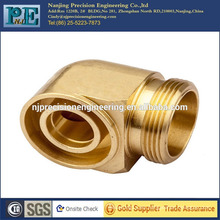Precision casting brass 90 degree elbow fitting fitting