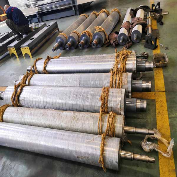Corrugated Single Facer Machine Pressure Roll Huatao Group