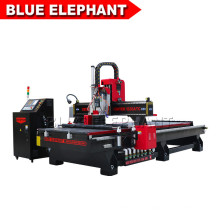 Elecnc-1335 Linear Atc CNC Router with Oscillating Knife