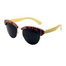 Attractive Design Wooden Sunglasses (SZ5686-2)