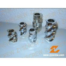 Elementos Tornillos Segmented Barrel Twin Screw Elements Barril segmentado