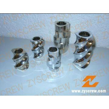 Elements Screws Segmented Barrel Twin Screw Elements Segmented Barrel