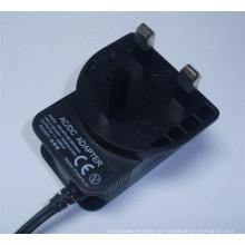 Wandhalterung UK Plug Power Adapter
