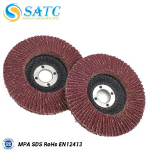 Disco do flap do tratamento de superfície para o fabricante do trabalho da indústria