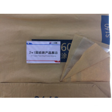 Chemical Material Plastic Liner Paper Cement Bag