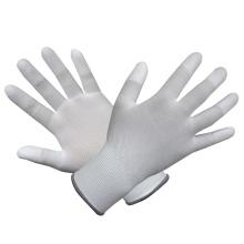 Polyester PP Gant en PVC blanc recouvert de palme