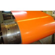 Bobina de acero Color anaranjado para la construcción de techo (SC-003)