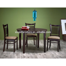 Simple design wooden dining table and modern chair XYN1512