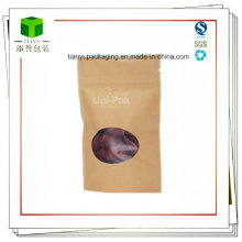Food Grade Paper Snack Food Packaging Bags for Nuts