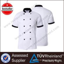2017 cocina moderna del cocinero del restaurante tela uniforme del cocinero