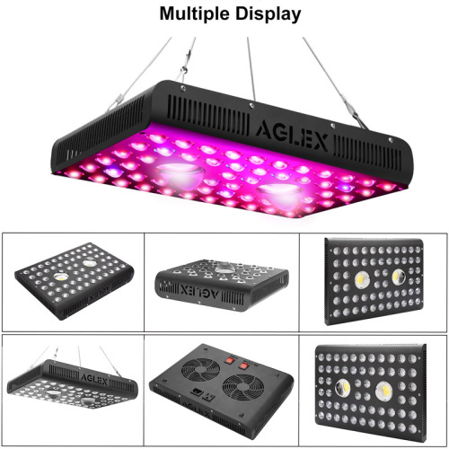 LED Grow Light Vegetal Bloom y Daisy Chained