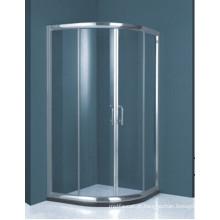 Quarto de chuveiro de vidro temperado padrão australiano (H002C)