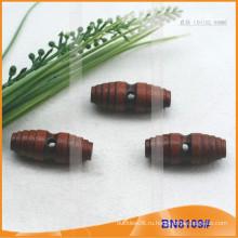 Модная натуральная деревянная ручка Переключатель для одежды BN8109