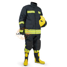 LeisonTac Aramid Fire Fighting Suit with ISO standard