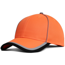 High visibility safety bump cap