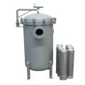 Cubierta de filtro de bolsa de acero inoxidable 0.5um Liquid Filtration Water Purifcation