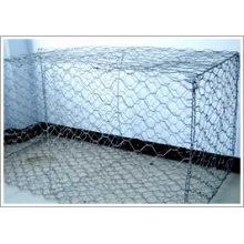 Caixa de Gabion de venda quente (galvanizado ou PVC revestido)