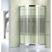 Diseño de la moda baño de cristal patrón ducha cubículo (d11)