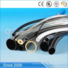Tube flexible de protection de câble de PVC, tube transparent de PVC de 8mm OD