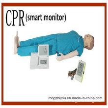 Umfassende Notfall-Fähigkeiten Human CPR Manikin Modell (Smart Monitor)