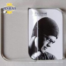 Pantalla plástica del marco de la foto de la muestra de acrílico del claro de 5 X 7 Premium 3m m