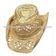 Модная ковбойская шляпа с бантом