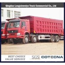 Cnhtc Sinotruck HOWO 371HP 8X4 Heavy Duty Tipper Truck