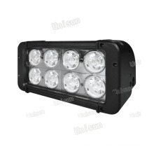 Good Quality 12V/24V 80W 8X10W Dual Row CREE LED Flood Light Bar