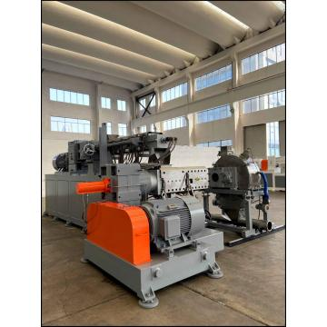 PP / PE / WPC Co-Rotating Twin Screw Recycling Pelletizing Granulation Pelletizing Line