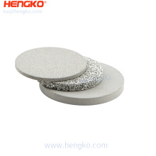 304/316/316L Customized Porous Stainless Steel Sintered Filter Disc For Various Filtration System