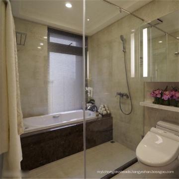 Large Safety Shower Door Glass