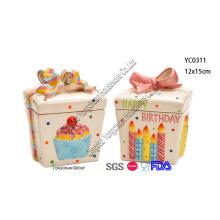 Keramik Geschenkbox Süßigkeiten Jar Set für Großhandel