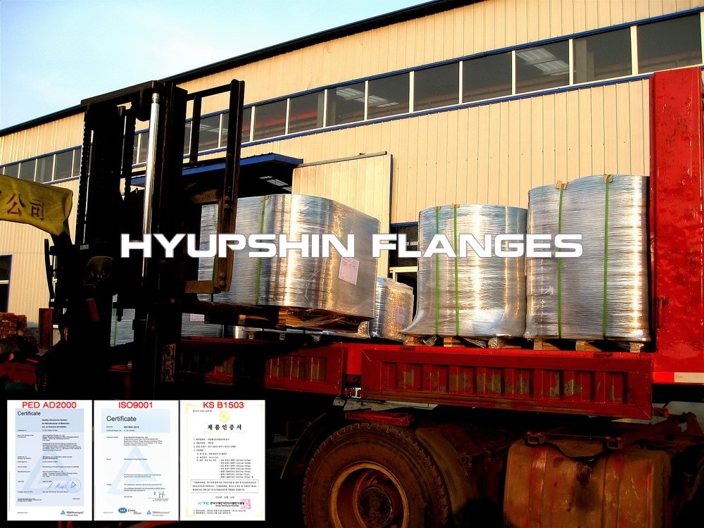 Hyupshin Flanges Delivery Export