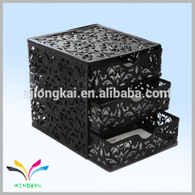 Metal black storage boxes pictures for organizer