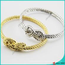 Liga de ouro / prata encantos pulseira para jóias menina