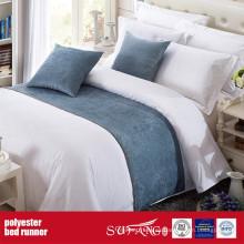 Poly Decoration Fabric Bed Runner para el hotel